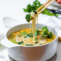 One-Pot Thai Curry Soup