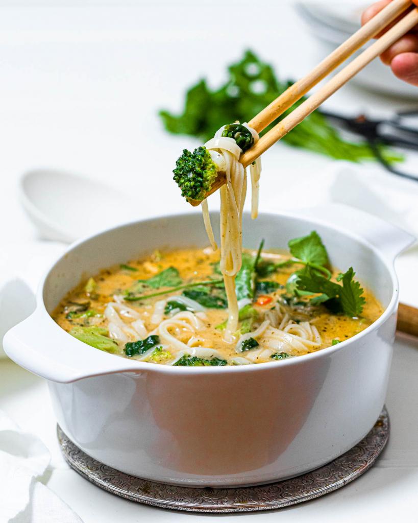 One-Pot Thai Curry Soup