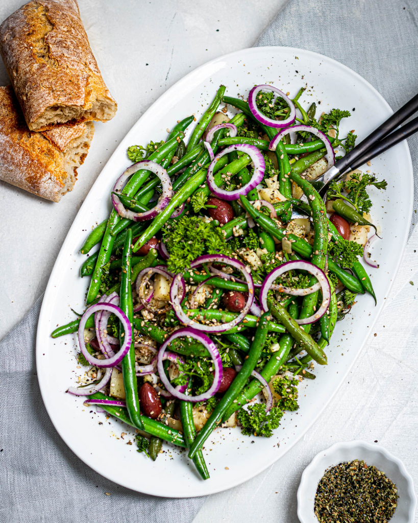 grean bean salad