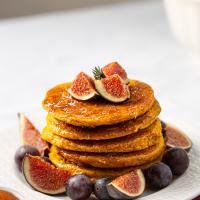 vegan pumpkin pancake
